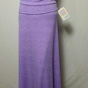 LuLaRoe New Size XXS Maxi Skirt